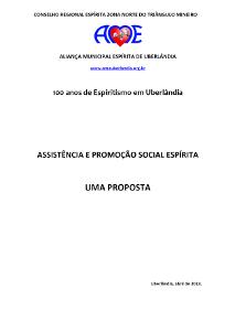 Assistência e Promoção Social Espírita